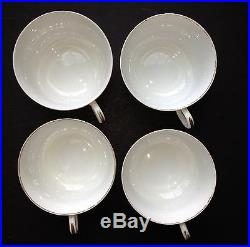 Antique Hand Painted China HAVILAND LIMOGES 4 6-PIECE SETTINGS Gold CFH1001 -1