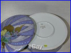 B840 UNICA 8½ Handpainted Signed Cake Box LIMOGES MARKED DOWN SALE