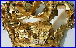 Crown Wall Decor Gold Royal Queen King Prince Princess His Hers Home Decor New