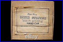 Pride Lines Uncle Scrooge Gold Mobile Hand Car outside box VGF inside, box NM