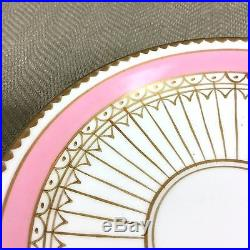 Richard Brendon Reflect Teacup & Saucer RRP £250 Hand Painted Pink Gold Mirrored